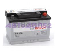 Bosch 0092S30080 70А/ч 640А 12В обратная поляр. стандартные клеммы
